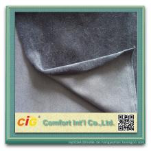 100% Polyester Velvet Velboa Plüsch Stoff