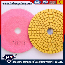 Wet Flexible Diamond Polishing Pads for Stone Material