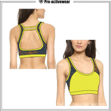Customized Women Plus Sizes Gym Fitness Wear Sports Bra