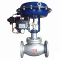 hot sale POV made 2 way flanged pneumatic proportional control valve