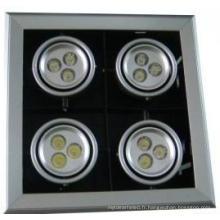 4 * 12W LED Pot Lumière Mr-GS