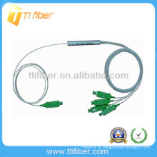 China fábrica Fibra óptica splitter PLC