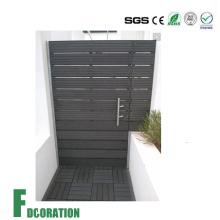 Resistente a la intemperie WPC Puerta Venta caliente Madera Compuesto de plástico Jardín WPC Gate