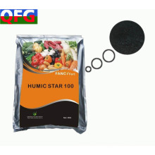 60% de fertilizante orgánico en polvo ácido húmico
