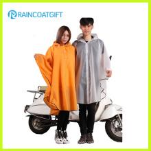 Imperméable réutilisable qui respecte l'environnement de moto imperméable de Poncho de pluie d'EVA Rvc-084