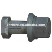 O pneumático de alta qualidade das peças de automóvel parafusa 22.5 * 76mm para o ônibus