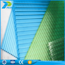 Light weight fire proof decorative multiwall polycarbonate translucent panels sheet