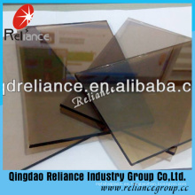 Reflector de color bronce de 5 mm con certificado de ce
