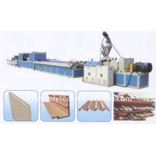wood plastic sheet extrusion line