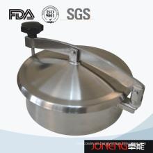 Cubierta de manómetro redondo sin presión de acero inoxidable Manway (JN-ML1001)