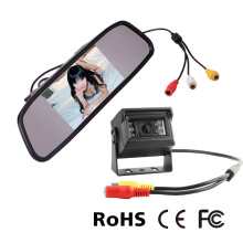 Rear View Mirror Safety System