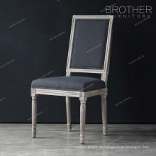 Großhandel Wohnmöbel Esszimmer Französisch Holz antiken französischen Stuhl