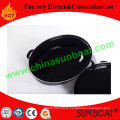 L-Size Carbon Steel Enamel Oval Roaster