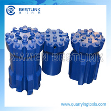 Thread Button Drill Bits for Hard Holes
