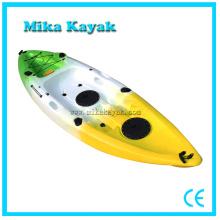 Solo asiento barco de vela Rotomold Kayak plástico de juguete de pesca