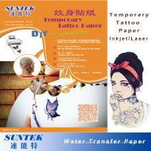 Etiqueta provisória colorida do tatuagem do bebê de Fashinable do papel do tatuagem