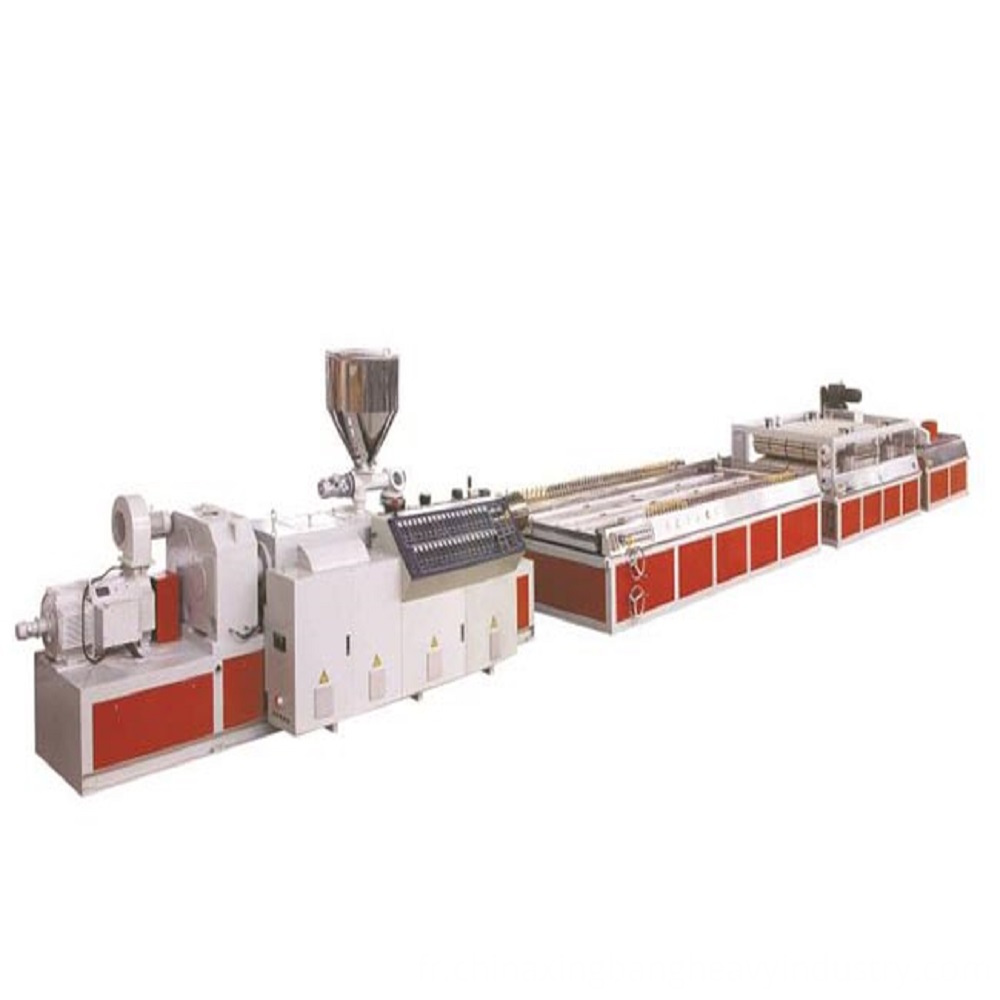 Wood Plastic Hollownes Door Panel Machine
