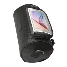 Waterproof Front Frame Tube Basket Handlebar Front Bag Cycling Bicycle Handlebar Bags with Phone Holder