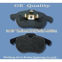 D1106-7873 opel 2002 - plaquette de frein de Shandong