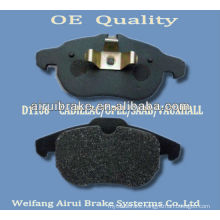 D1106-7873 opel 2002- brake pad from Shandong