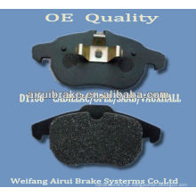 D1106-7873 opel 2002- pastilha de freio de Shandong