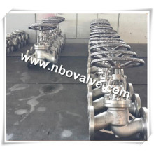 Oil System Pipe Flanged Globe Valve (J41Y)