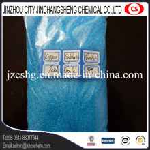 Cristal de sulfato de cobre para aditivos de piensos