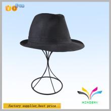 Gegenmuster Schwarzdraht Friseursalon Display Perücke Hüte Regal