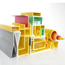 Heiße Verkaufs-Fenster-Fiberglas-strukturelle Profile GRP-FRP-Pultrusions-Hohlstab