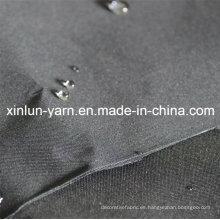 Tejido de poliéster de venta caliente con función impermeable para prendas de vestir