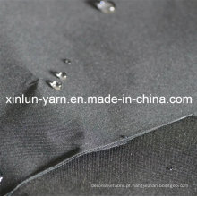Tecido de poliéster quente com função impermeável para vestuário