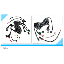 Custom Best Quality Auto Car Single /Double Light Wire Harness Assembly