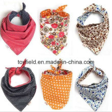 Dog Printed Scarf Cotton Pet Bandana