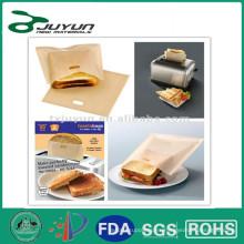 PTFE reutilizable bolsa de tostadora, adecuado para tostadora, horno, horno de microondas, lavavajillas