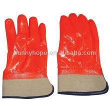 Зимние перчатки с полностью покрытым ПВХ покрытием