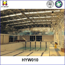 Prefabricated steel swimming sport hall