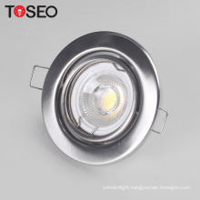 Die casting aluminium ce rohs vde mr16 gu10 3w 50w 35w 9w satin nicek chrome white ceiling lamp base