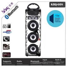2016 usb sd card fm radio music wood bluetooth speaker