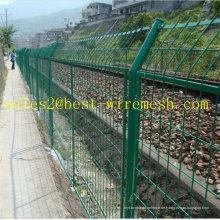 Eisenbahnschutzrahmen Geschweißte Zäune