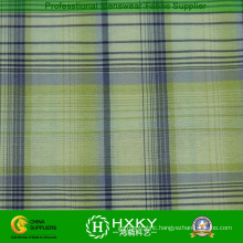 100% Nylon Yarn Dyed Plaid Fabric for Jacket Lining