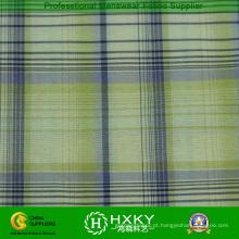 100% nylon fio tingido xadrez tecido para o forro do casaco