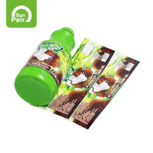 Manufacture printing private waterproof  bottle sticker roll