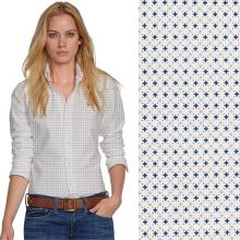 106gsm tela 100x50 100 algodón lleno de la tela de la ropa de la impresión tela de algodón