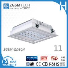 80W LED-Überdachungs-Licht im Freien für Tankstelle