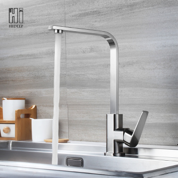 HIDEEP Stainless Steel 304 Grifo para lavabo de cocina