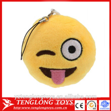 emoji plush emoji keychain for cell phone                                                                         Quality Choice