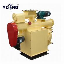 Машина для производства пеллет для кормления птицы Yulong с бункером