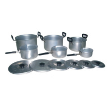 Al aire libre de aluminio Cookerware camping (CL2C-DP01)