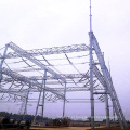 Arquitetura da subestação de transmissão de energia de tubo de aço 500 kV