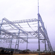 500 kV Stahlrohr-Stromübertragungsstationsarchitektur